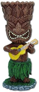 Hawaiian Miniature Dashboard Doll Tiki With Ukulele