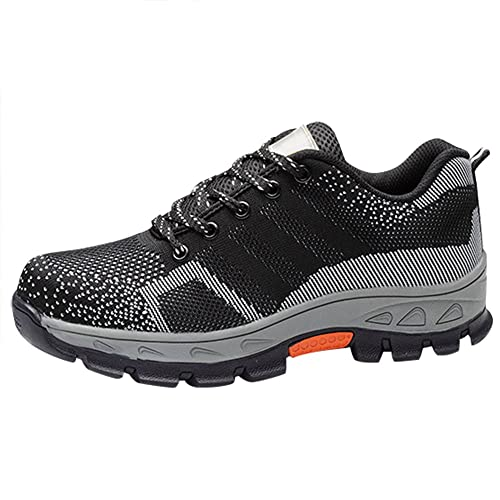 Optimal Women s Safety Shoes Work Shoes Comp Steel Toe Shoes … 19e339d321
