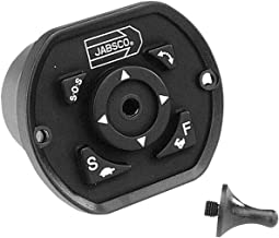12-Volt, 15-Amp, 18 Lux at 330-Feet, Standard Base Jabsco 62040-4002 Marine 180 Remote Control Marine 7-Inch Spot and Flood Beam Searchlight