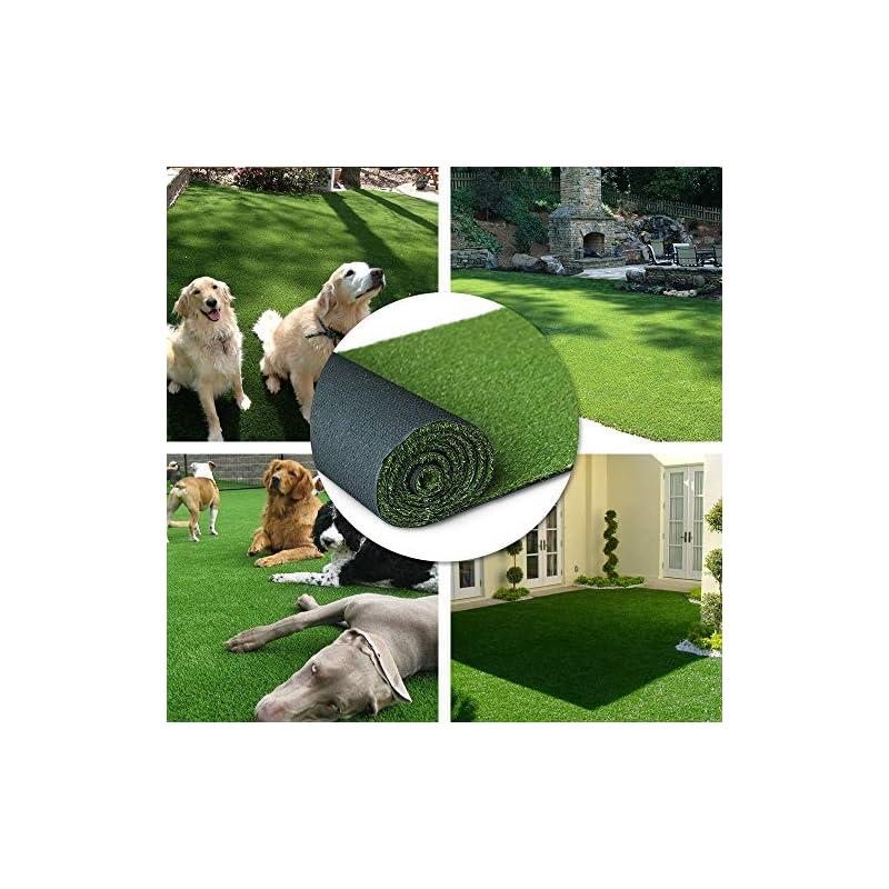 "silk flower arrangements · petgrow · artificial synthetic grass turf 3ftx23ft(69 square ft),0.8"" pile height indoor outdoor pet dog artificial grass mat rug carpet for garden backyard balcony"