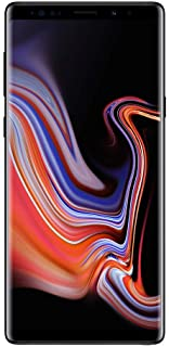 Samsung Galaxy Note 9, 128GB, Midnight Black - Fully Unlocked (Renewed)