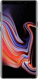 Samsung Galaxy Note9 N960U 128GB Unlocked 4G LTE Phone w/ Dual 12MP Camera - Midnight Black (Renewed)