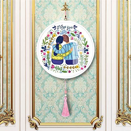 ACHICOO Mandala Blume Katze Mural quaste DIY Diamant malerei anhänger Dekoration Handarbeit Handwerk YKH95