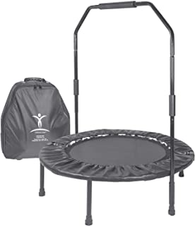 Cellerciser TRI-FOLD Rebounder Kit - Includes Stabilizing Bar and Wheeled Carrying Case