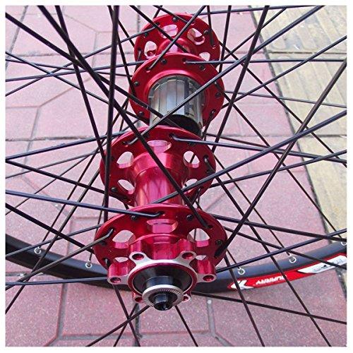 COEWSKE 36pcs Bike Spoke 14G J Bend Steel Bicycle Spokes with Nipples 262mm