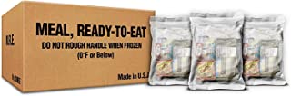 XMRE SAFECASTLE Meals 1300XT Lite - 12 Case with Heaters (Meal Ready to Eat - Military Grade) New Fresh Dates Meals Bundle...