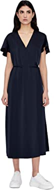 Armani Exchange Blueberry Jelly Business Casual Dress Robe décontractée Femme
