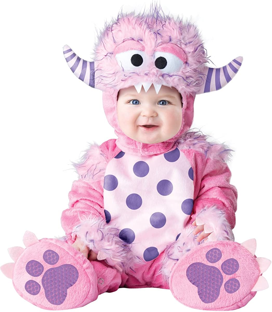 Amazon Com Incharacter Baby Girls Lil Monster Costume By Fun World Clothing