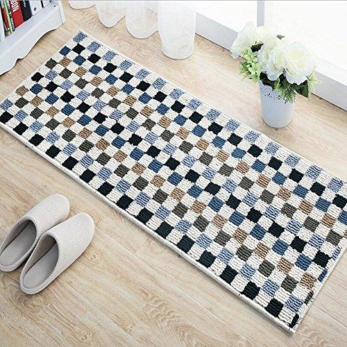 E Support trade; Antiscivolo cucina Mat Mosaico tappeto tappetino Indoor/Outdoor per Soggiorno Camera da letto Cucina Solid decorativo domestico