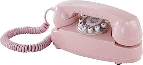 Crosley CR59-PI Princess Phone with Push Button Technology, Pink
