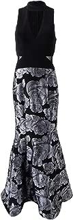 Xscape X Women's Choker-Neck Mermaid Gown