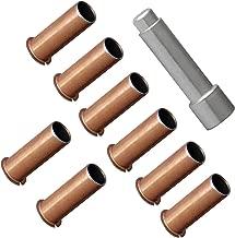 Door Hinge Roller Pin Door Hinge Pin and Bushing Repair Kits 8 Hinge Liners and 1 Silver Door Bushing Removal Tool for Jeep JKU 07-18