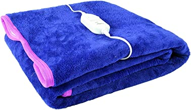 Cozyland Polyester Single Electric Bed Warmer - Blue