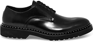 CESARE PACIOTTI Luxury Fashion Mens PAC40308 Black Lace-Up Shoes | Fall Winter 19