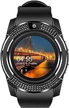 Sgfccyl Smartwatch touchscreen-polshorloge met camera/simkaartslot waterdicht smartwatch bluetooth beweging smartwatch bluetooth