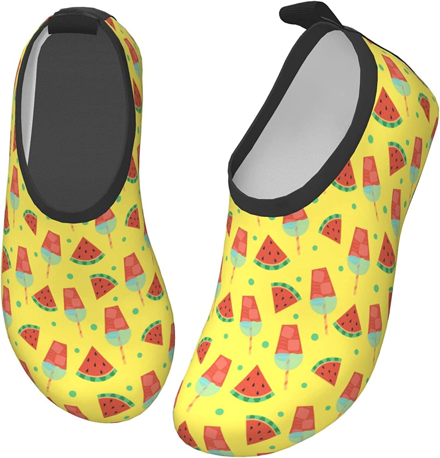 Watermelon Ice Cream Red Melon Fruit Children's Water Shoes Feel Barefoot for Swimming Beach Boating Surfing Yoga