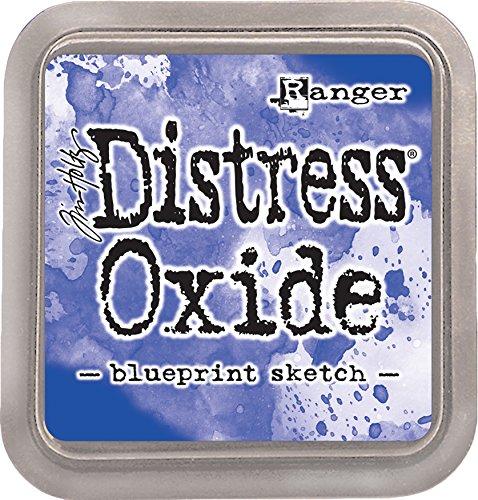 Ranger Blueprint Sketch Tim Holtz Distress Oxides Ink Pad  