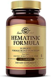 Solgar - Hematinic Formula, 100 Tablets