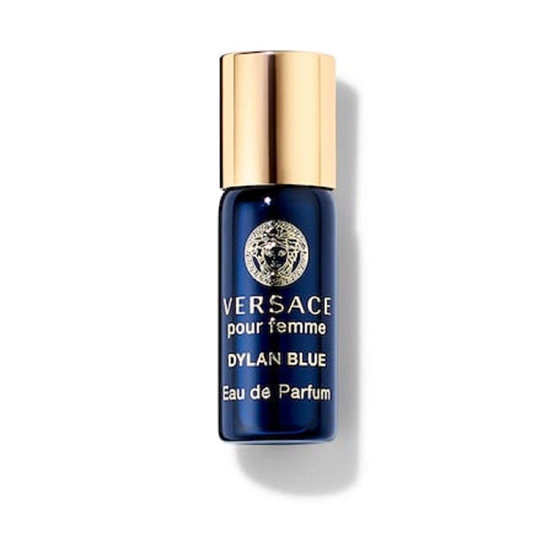 Versace Dylan Blue (ヴェルサーチ) 0.1 oz (3ml) EDP Mini Rollerball(ミニロールオン) by Versace for Women