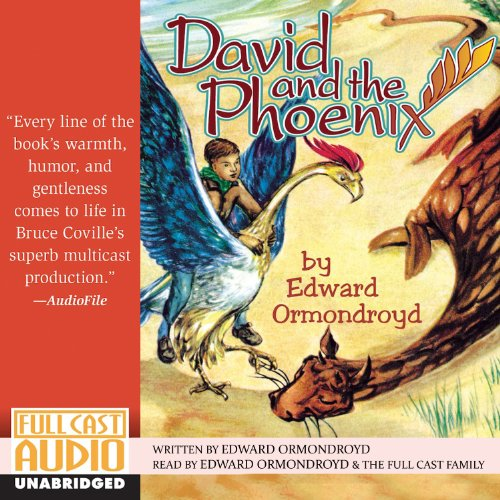 David and the Phoenix audiobook cover art