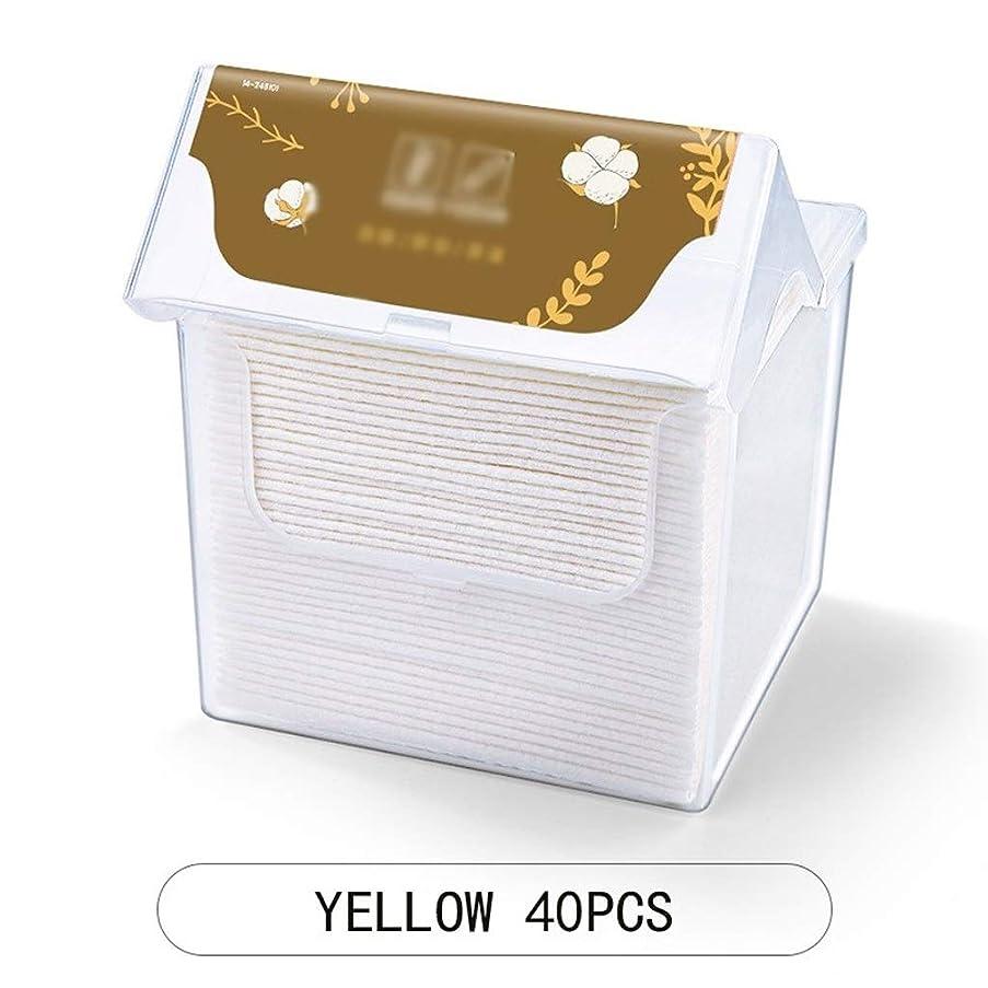 噴出する罪表面的なクレンジングシート 柔らかい綿のティッシュメイクアップワイプ多目的フェイスクリーニングフェイスクロスコットンパッドメイクアップ取り外し家庭用クリーニング (Color : Green)