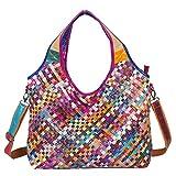 DokinReich Mode Damen Handtasche Leder Damentasche Schultertasche 38cm* 30cm*13cm