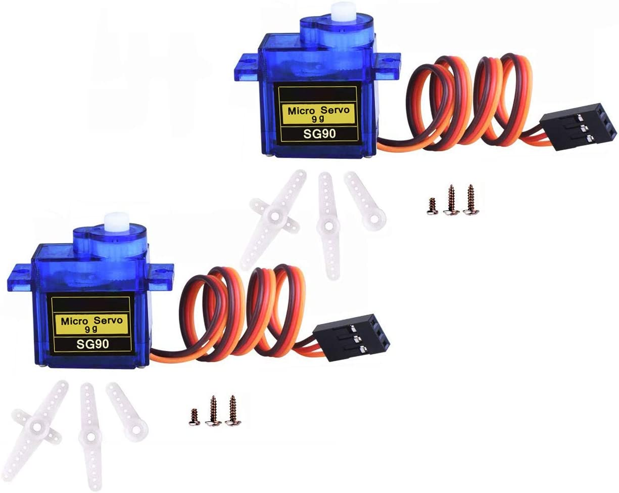 5 pcs 9G SG90 Micro Servo Motor 180° For RC Robot Helicopter Aircraft Car Boat