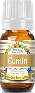 Cumin Essential Oil (100% Pure, Natural, UNDILUTED) 10ml - Best Therapeutic Grade - Perfect for Your...