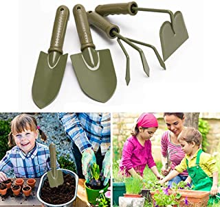 Gardening Tools Set Plant Care Kit Potted soil Shovel Claw Hoe Durable Studry for Home Garden Lawn Farm Herbs Indoor Outdo...