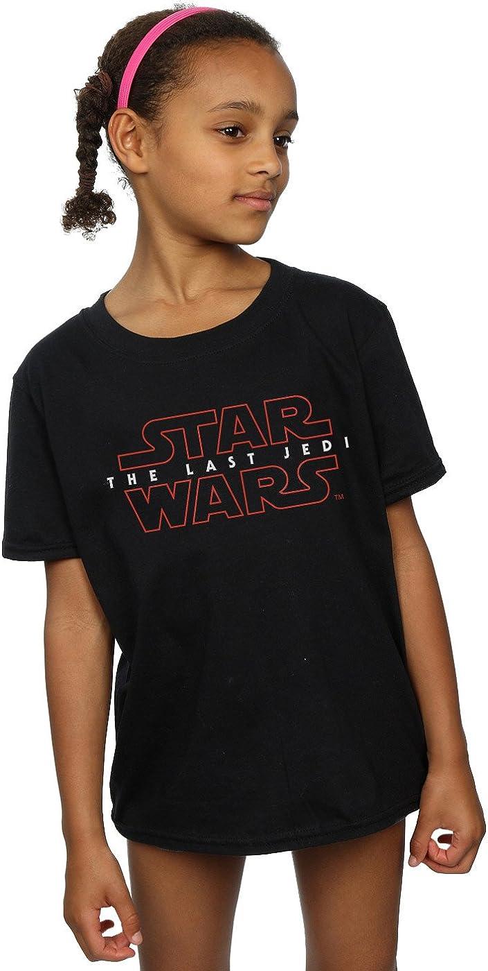 STAR WARS Girls The Last Jedi Logo T-Shirt 9-11 Years Black