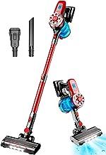 Cordless Vacuum Cleaner, 17Kpa Stick Vacuum Cleaner 4 in 1 Lightweight Handheld Vacuum Cleaner Wireless Vacuum Cleaners fo...