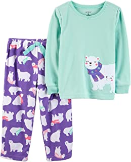 Little Girls' 2-Piece Fleece Pajama Set …