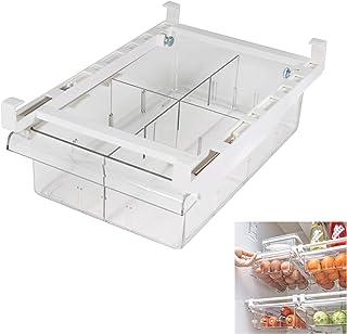 Diskary Bacs de Rangement pour Tiroir de Réfrigérateur, Pull Out avec Poignée, Boîte de Organiseur pour Support D'étagère ...