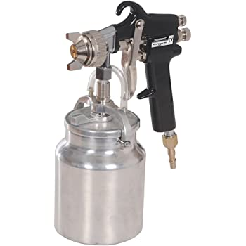 Silverline Pistolet d/'aspiration feed 750cc Pistolets outils air