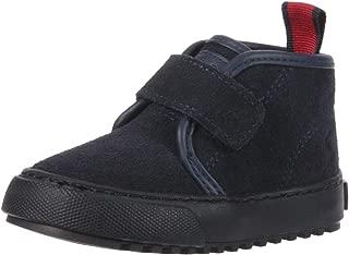 POLO RALPH LAUREN Kids Boys' Chett EZ Sneaker, Navy Suede, M095 M US Toddler