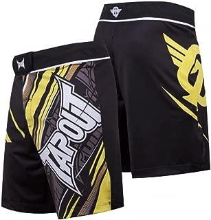 4 Way Stretch Performance Fight Shorts (Yellow)