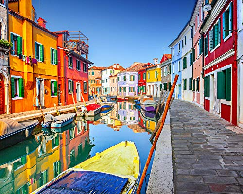 Very Venice - Modern Monet Paint by Numbers Kits for Adults