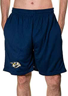 Calhoun NHL Men's Team Logo Air Mesh Shorts