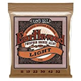 Cuerdas de guitarra acústica de fósforo bronce Ernie Ball Earthwood Light - Indicador 11-52