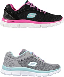 Official Brand Skechers Appeal EC Trainers Juniors Girls Shoes Sneakers Kids Footwear