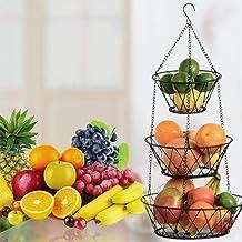 Opknoping Fruit Groentemand Keuken Opbergmand Multifunctioneel Ijzer Opknoping Opbergrek
