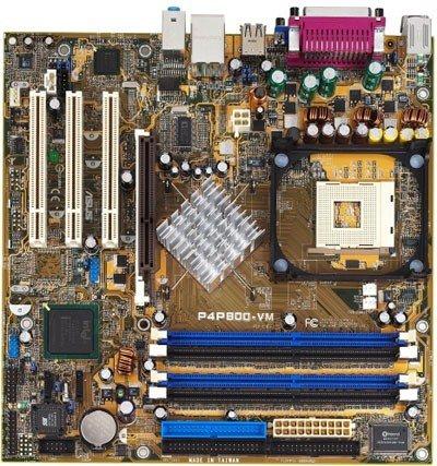 Asus P4P800-VM P4P800 VM - Procesador Pentium 4 (2,6 GHZ y ventilador)