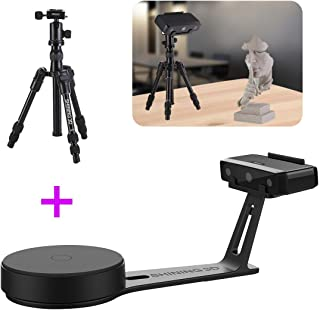 2019 New EinScan-SE White Light Desktop 3D Scanner with Tripod, 0.1 mm Accuracy, 8s Scan Speed, 700mm Cubic Max Scan Volume, Fixed/Auto Scan Mode, Lowest Cost Professional Level 3D Scanner