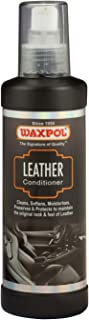 Waxpol Leather Conditioner 200 ml, ALC915, black/grey