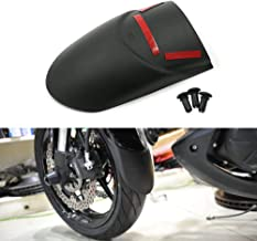 Motoparty Versys650 KLE650 Mudguard Extension Front Fender Extender For Kawasaki VERSYS KLE 650 2015 2016 2017