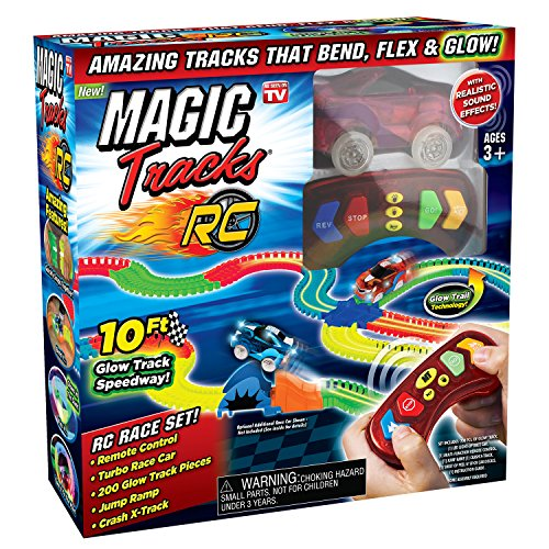 Magic Tracks MAGTRA-RCR RC Racer - Bicycle Accessories Set, Multicolor