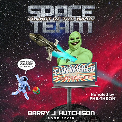 Space Team: Planet of the Japes audiobook cover art