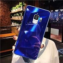 URFEDA Compatibel met Samsung Galaxy S9 telefoonhoes Diamond Glitter Case met spiegeleffect Sparkly Bling TPU Siliconen + ...