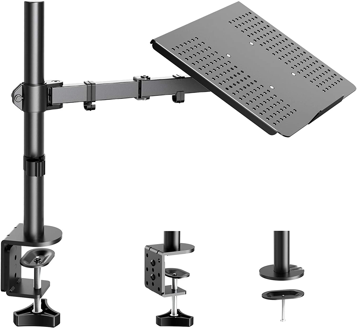 HUANUO Laptop New product Notebook Desk Mount Adjustable Sin Stand Height - Ranking TOP7