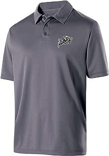 NCAA Navy Mens Men's Shift PoloMen's Shift Polo, Graphite, L